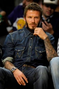 Denim top becks
