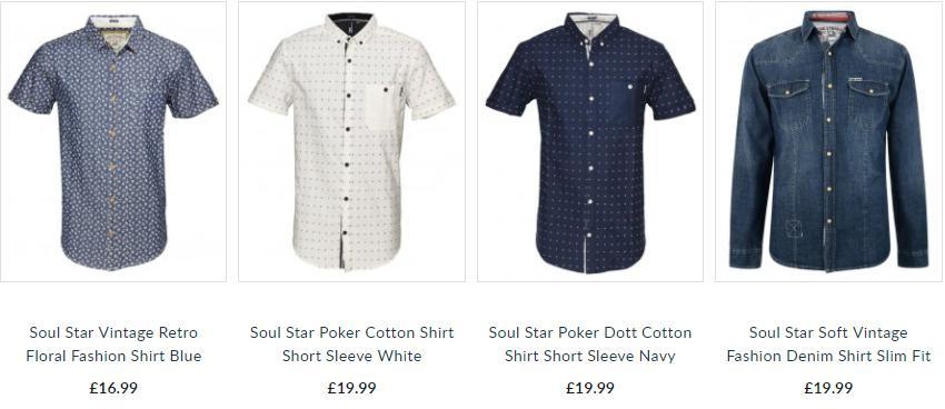 Soulstar Shirts